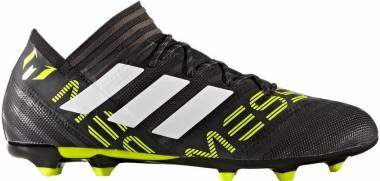 Adidas Nemeziz Messi 17.2 Firm Ground - Black/White/Solar Yellow (BY2409)