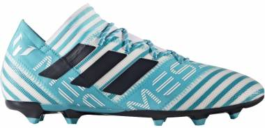 Adidas Nemeziz Messi 17.2 Firm Ground White/Legend Ink/Energy Blue Men