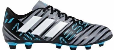 Adidas Nemeziz Messi 17.4 FxG - Grau (Grey/Footwear White/Core Black)
