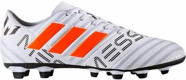 Adidas Nemeziz Messi 17.4 FxG - Mehrfarbig Ftwr White Solar Orange Clear Grey (S77199)