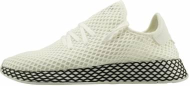 Adidas Deerupt Runner White/White/Black Men
