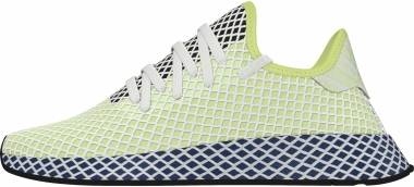Adidas Deerupt Runner - Yellow Tint Ftwr White Legend Marine (EF5377)