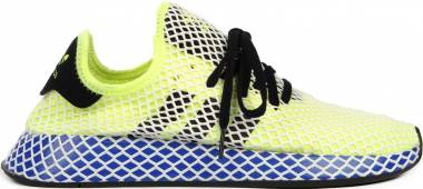 Adidas Deerupt Runner - Yellow Hi Res Yellow Core Black Ftwr White Hi Res Yellow Core Black Ftwr White (EE5662)