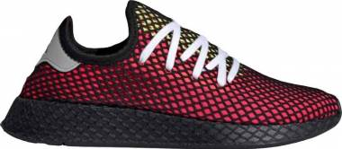Adidas Deerupt Runner - Red Shock Red Real Lilac Core Black Shock Red Real Lilac Core Black