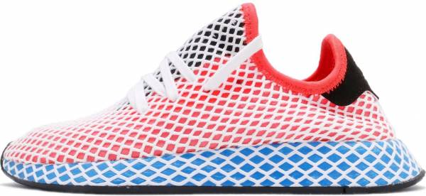 huge discount ff4de 1020d Adidas Deerupt Runner Soar Red Bluebird