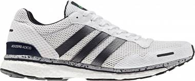 sale retailer 3072d 52498 Adidas Adizero Adios Boost 3.0 Legend Ink Shock Lime Hi-res Blue Men