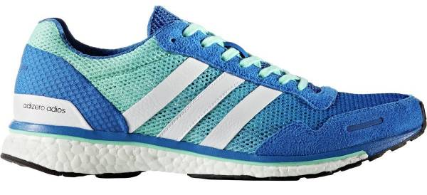 Adidas Adizero Adios Boost 3.0 men blue/white/easy green