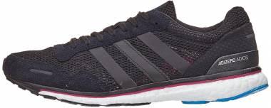 Adidas Adizero Adios Boost 3.0 - Black/Real Magenta/Bright Blue (AQ0192)