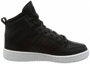 Adidas Cloudfoam Hoops Winter Mid Zwart Men
