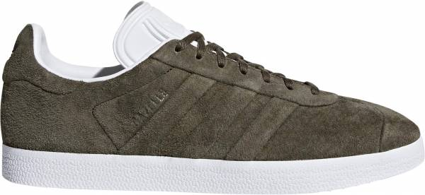 huge discount e16c8 765b5 Adidas Gazelle Stitch and Turn green