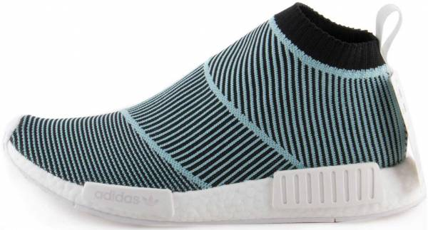 5f19709e0 Adidas NMD CS1 Parley Primeknit Blue Spirit   Core Black-footwear White