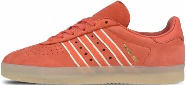Adidas Oyster Holdings Adidas 350 - Red Trace Scarlet Chalk White Metallic Gold