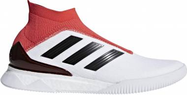 Adidas Predator Tango 18+ Trainers - Cloud White/Core Black/Real Coral (CM7686)