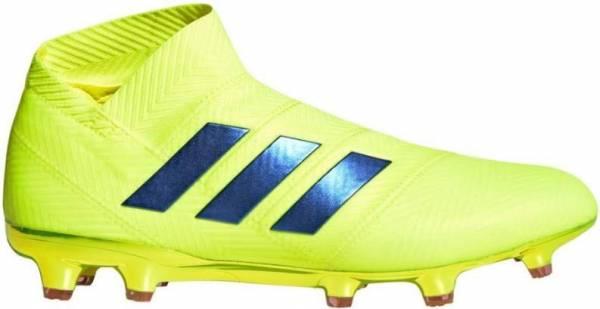 Adidas Nemeziz 18+ Firm Ground - Syello/Fooblu/Actred (BB9420)