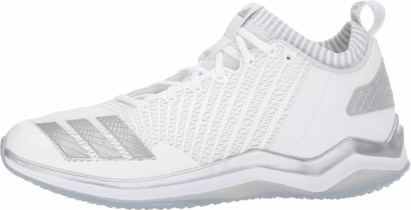 Adidas Icon Trainer Blanco, Gris, Plateado, Metálico (White/Metallic Silver/Light Grey)