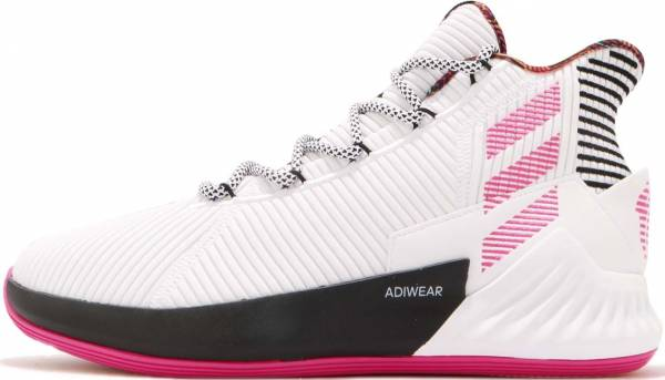 free shipping 99319 d7929 Adidas D Rose 9 White
