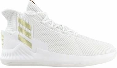 Adidas D Rose 9 - FTWWHT/LGRANI/GOLDMT
