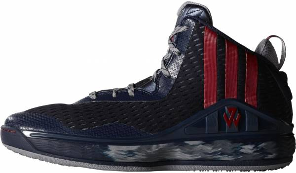 Adidas J Wall 1 Collegiate Navy/Red Solid/Light Onix