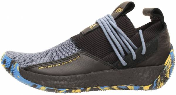 purchase cheap e60fe f73f6 Adidas Harden Vol. 2 LS Lace Black Gold Metallic Trace Royal