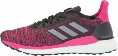 3962a9e06b28d Adidas Solar Glide Carbon Grey Real Magenta Men