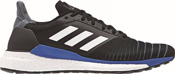 Adidas Solar Glide Black/White/Hi-res Blue