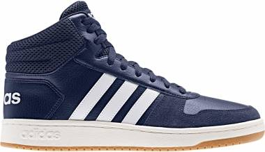 Adidas Hoops 2.0 Mid - Dark Blue/White/Cloud White (EE7384)