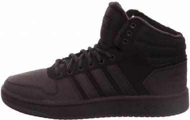 Adidas Hoops 2.0 Mid - Black Negbás Negbás Carbon 000 (B44621)