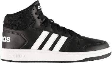 Adidas Hoops 2.0 Mid - Black (BB7207)