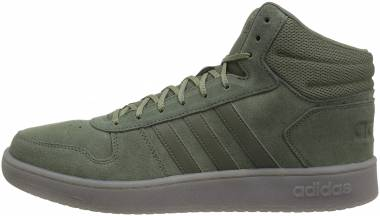 Adidas Hoops 2.0 Mid Base Green/Base Green/Trace Cargo Men