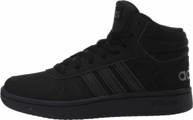 Adidas Hoops 2.0 Mid - Core Black Core Black Grey Six