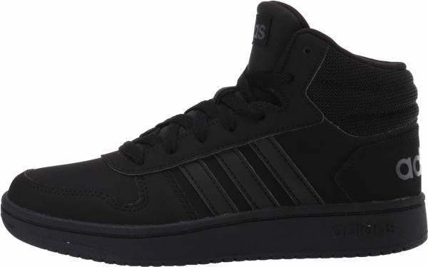 Adidas Hoops 2.0 Mid - Core Black Core Black Grey Six