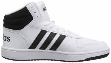 Adidas Hoops 2.0 Mid White Men