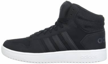 Adidas Hoops 2.0 Mid - Black/Black/Carbon (DB0113)