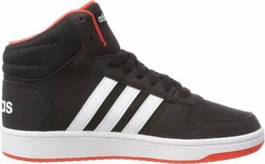 Adidas Hoops 2.0 Mid - Schwarz Negbás Ftwbla Roalre 000