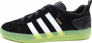 Adidas Palace Pro - Core Black/Footwear White/Lime Green (CG4566)