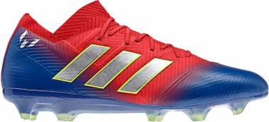 Adidas Nemeziz Messi 18.1 Firm Ground - Multicolour Rojact Plamet Fooblu 000