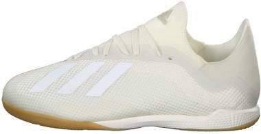Adidas X Tango 18.3 Indoor Off White/White/Gold Metallic Men