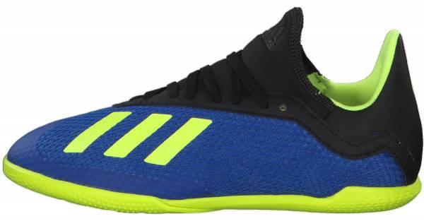 Adidas X Tango 18.3 Indoor - Football Blue/Solar Yellow/Black
