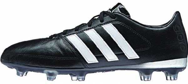 Adidas Gloro 16.1 Firm Ground - Black Core Black Ftwr White Matte Silver (AF4856)