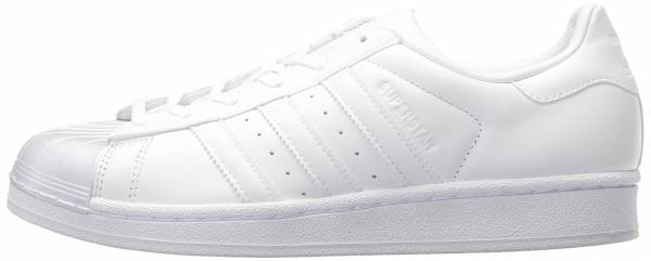 adidas superstar black white toe
