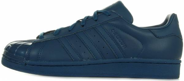 Adidas Superstar Glossy Toe Blue