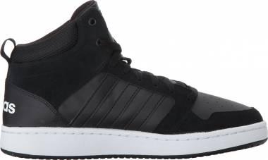 Adidas Cloudfoam Super Hoops Mid - Black Black Crystal White