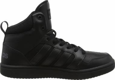 Adidas Cloudfoam Super Hoops Mid - Black Core Black Core Black Grey Five