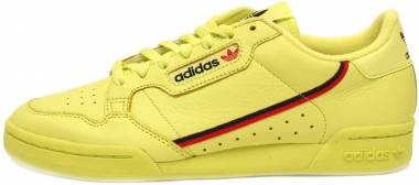 Adidas Continental 80 Semi Solar Yellow/Scarlet/Collegiate Navy Men