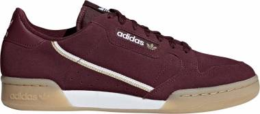 Adidas Continental 80 - Maroon/White/Gold (BD7651)