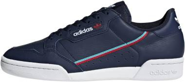 Adidas Continental 80 Collegiate Navy/Scarlet/Hi-Res Aqua Men