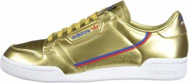 Adidas Continental 80 - Gold Metallic Gold Metallic Crystal White