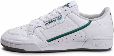 Adidas Continental 80 - Footwear White / Glory Green / Collegiate Green (EF5990)