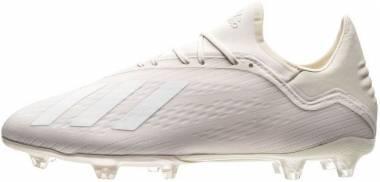 Adidas X 18.2 Firm Ground Off White/White/Black Men