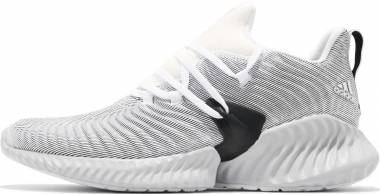 Adidas Alphabounce Instinct - White Grey Two Black (AQ0562)
